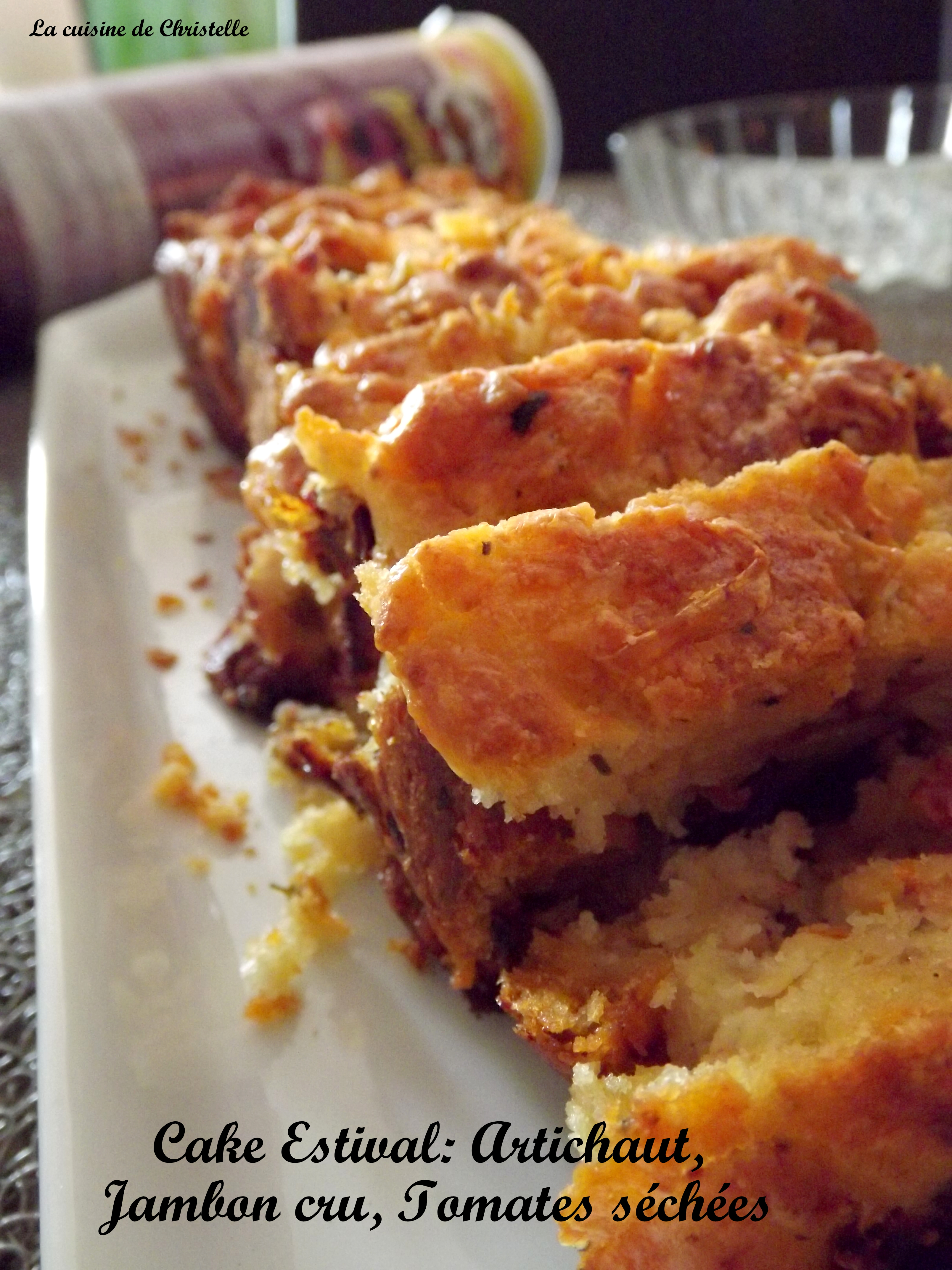 Cake De Sophie Tomates Sechees Mozzarella