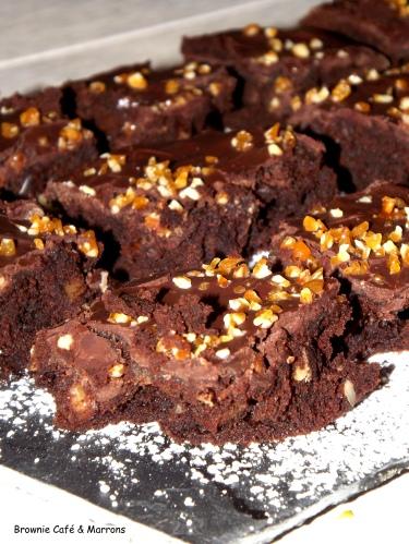 Brownie Café & Marrons1
